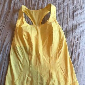 Yellow Lululemon tank